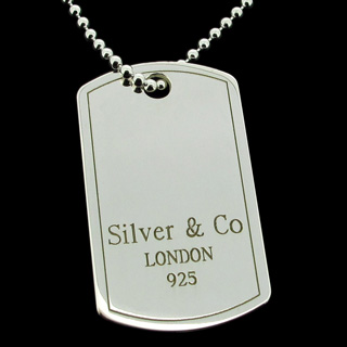 Silver & Co Dog Tag